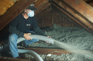 Attic Insulation installed in Trumbull